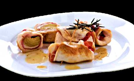 Involtini di pollo gustosi e morbidi