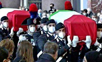 Funerali di Stato per Attanasio e Iacovacci, commozione e lacrime