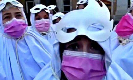 A Montecitorio la protesta delle lavoratrici del gioco legale