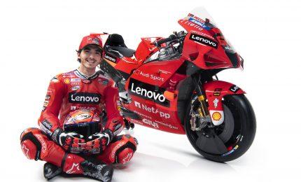 Svelata la Ducati 2021 di Bagnaia e Miller più rossa che mai