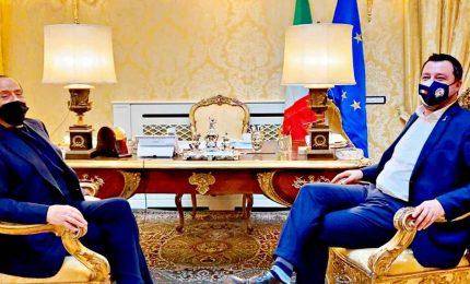 Asse Berlusconi-Salvini: no veti a Draghi. Nuovo strappo con Meloni
