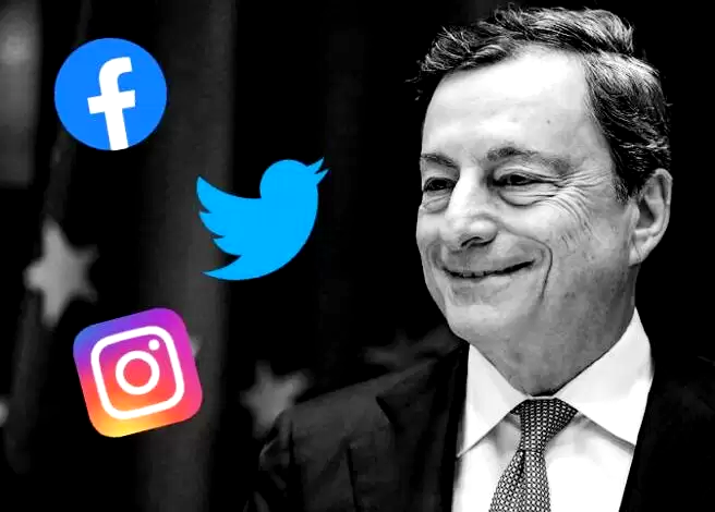 Draghi e i ministri tecnici al via senza social network. Tra i politici Di Maio il più seguito, Orlando il più attivo