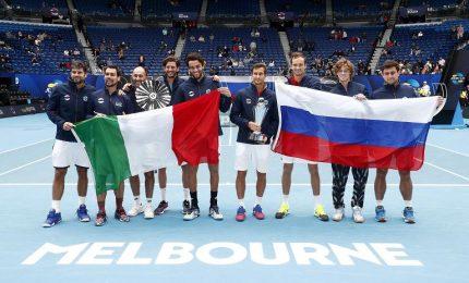 Atp Cup, Italia sconfitta in finale. Il torneo alla Russia