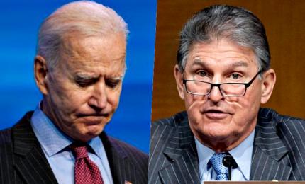 Il conservatore Manchin: ponte di Biden al Senato coi repubblicani?