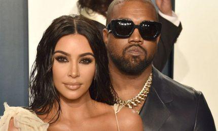 Kim Kardashian divorzia dal marito Kanye West
