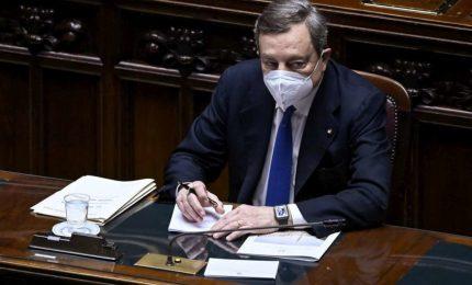 Fiducia anche alla Camera, via libera al governo Draghi