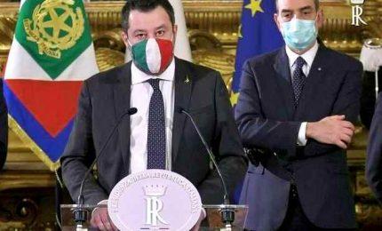 Salvini: con Draghi condivisione e sensibilità comune