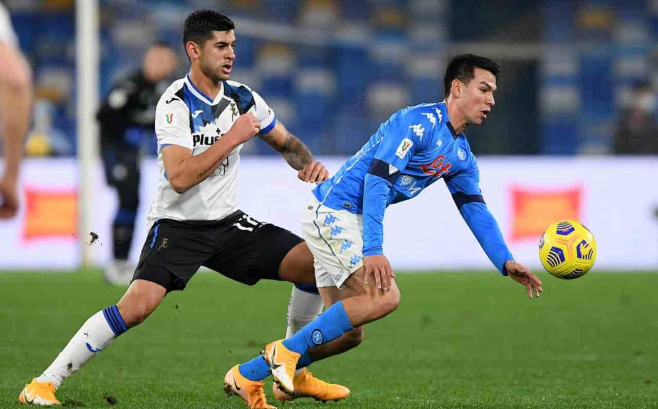 L'Atalanta non sfonda, a Napoli finisce 0-0