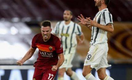 La Juve batte la Roma 2-0 e la scavalca al terzo posto