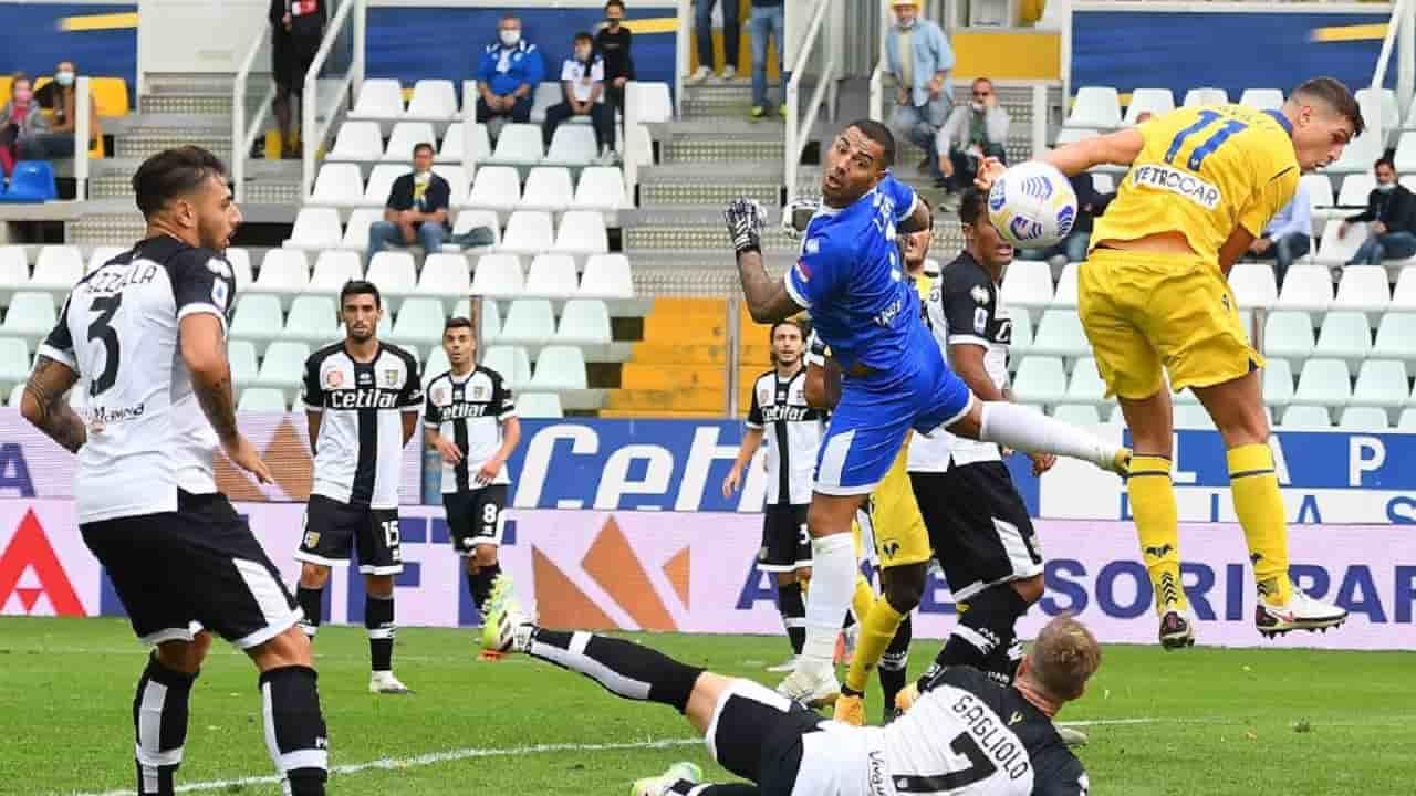 Verona-Parma 2-1, la ribalta Barak