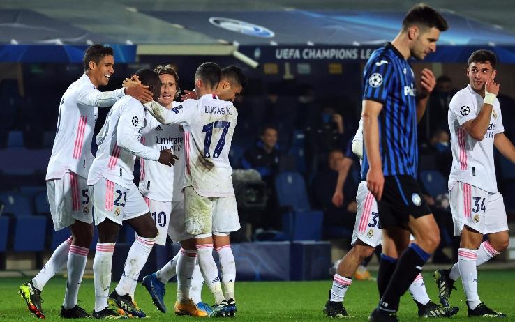 Mendy stende l'Atalanta, il Real vince a Bergamo 0-1