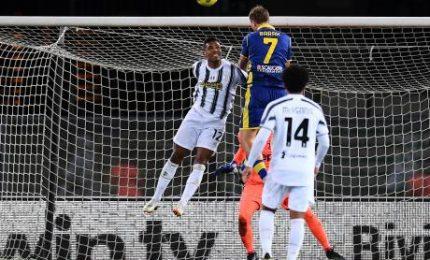 """Verona-Juve 1-1, Ronaldo non basta. Pirlo: """"Ci è mancata aggressività"""""""