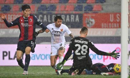 Bologna-Benevento 1-1, un punto per la zona salvezza