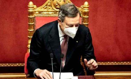 """Via libera del Parlamento al Pnrr. Draghi: """"Una sfida che non si può perdere"""""""