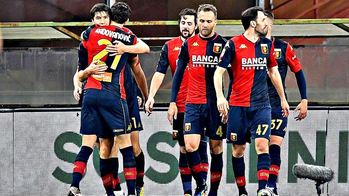 Genoa-Verona 2-2. Sassuolo non va oltre l'1-1 col Bologna