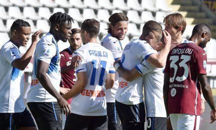 Cuore Toro, da 0-3 a 3-3 con l'Atalanta. Sassuolo ko con Spezia