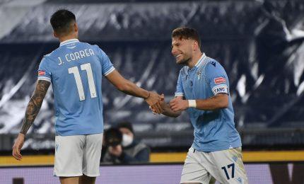 Alla Lazio basta Immobile: 1-0 al Cagliari, raggiunta la Roma al quarto posto