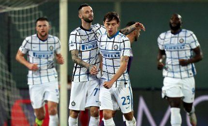 Fiorentina-Inter 0-2, i nerazzurri in testa al campionato