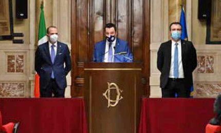 Governo, Salvini: non parlato di ministri, fiducia in Draghi