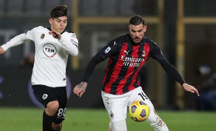 Spezia-Milan 2-0, Pioli rischia il sorpasso