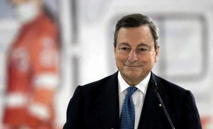 Draghi: prepararci al futuro, non sappiamo quanto durerà pandemia