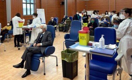 Mattarella si è vaccinato allo Spallanzani con dose Moderna