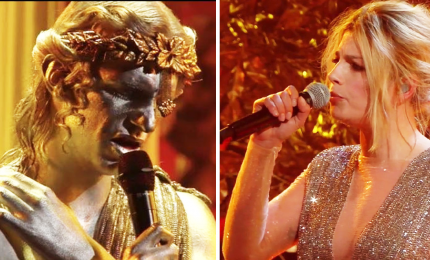Sanremo, cover e duetti tra problemi tecnici e audio. Omaggio a Dalla, ironia Zingaretti