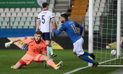 Italia-Irlanda del Nord 2-0, risolvono Berardi e Immobile