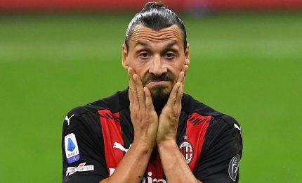 Tegola Milan, tre settimane di stop per Ibrahimovic