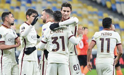 Borja Mayoral stende lo Shakhtar 2-1, Roma ai quarti di finale