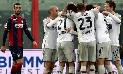 Crotone-Bologna 2-3. Spezia-Cagliari 2-1, Maggiore pesca un jolly salvezza