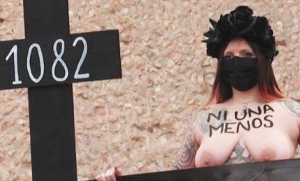 8 marzo, le Femen a Madrid contro lo stop alle manifestazioni