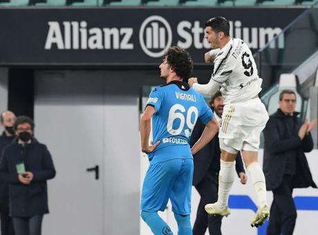 La Juve prima soffre poi vince 3-0 con lo Spezia
