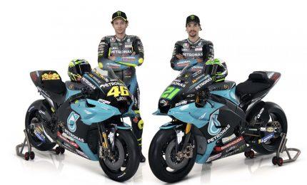 Presentata nuova Petronas di Rossi e Morbidelli