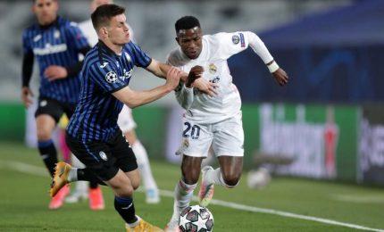 Real Madrid-Atalanta 3-1, spagnoli ai quarti di finale