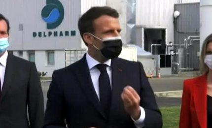 Macron promette 250 milioni vaccini prodotti in Francia nel 2021
