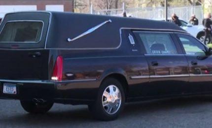 La bara di Daunte Wright in chiesa per i funerali a Minneapolis