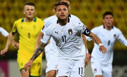 Lituania-Italia 0-2, Sensi e Immobile lanciano gli azzurri