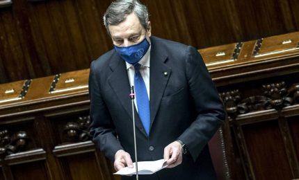 Draghi presenta alla Camera il Pnrr: in gioco il destino del Paese
