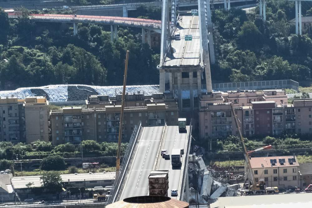 Ponte Morandi, Aspi valutò ipotesi demolizione nel 2003