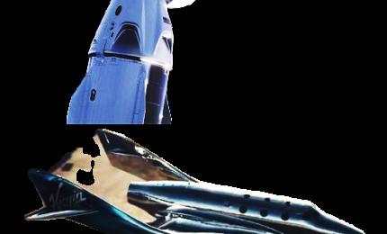 Novità per il turismo spaziale da Virgin Galactic e SpaceX