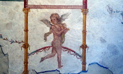 Parco Archeologico di Pompei, recuperati tre frammenti di affreschi del I sec. d.C.
