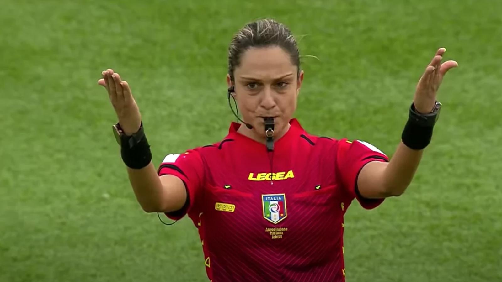 """Marotta, primo arbitro donna in B: """"Un sogno mai immaginato"""""""