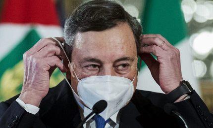 """Draghi: """"Sulle riaperture ci sarà un approccio graduale"""""""