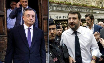 """Draghi frena l'offensiva di Salvini: riaperture sì ma usando """"la testa"""" e """"la prudenza"""""""
