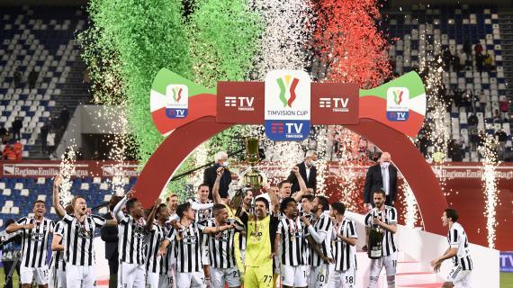 Orgoglio Juve, 2-1 all'Atalanta e vince la Coppa Italia