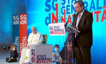 Draghi: Italia senza figli è un'Italia che non ha posto per il futuro