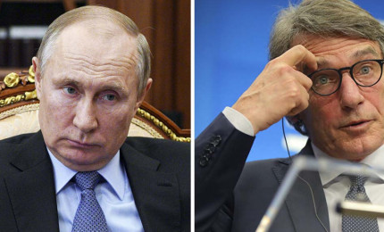 Russia vieta ingresso a 8 cittadini europei, tra cui Sassoli