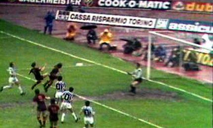 Juventus-Roma, 40 anni fa lo scudetto e il 'non gol' di Turone