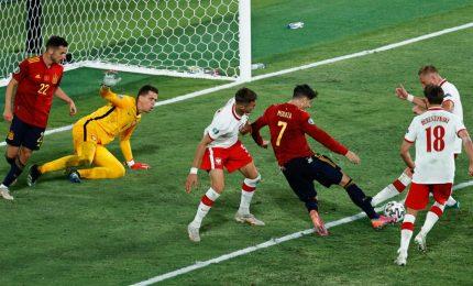 Spagna-Polonia 1-1, Lewandowski risponde a Morata